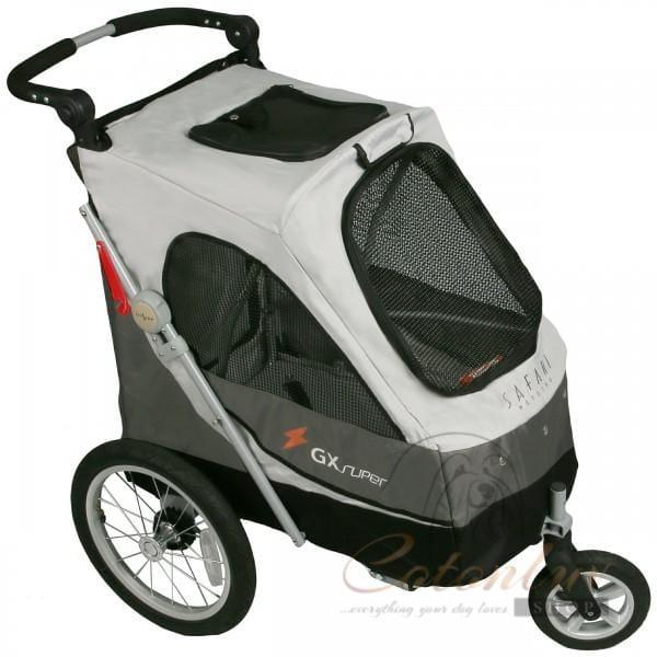 PETSTRO Stroller SAFARI 702GX-SG Smokey Grau