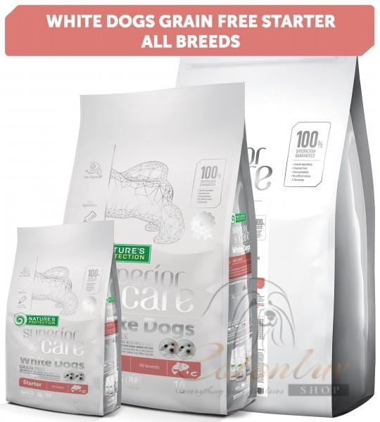 NP Superior Care White Dogs Grain Free Lachs Welpen Alle Rassen