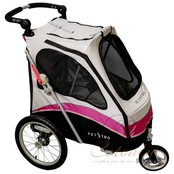 PETSTRO Stroller JETPRO / Journey 706GX-WP Pink Grau
