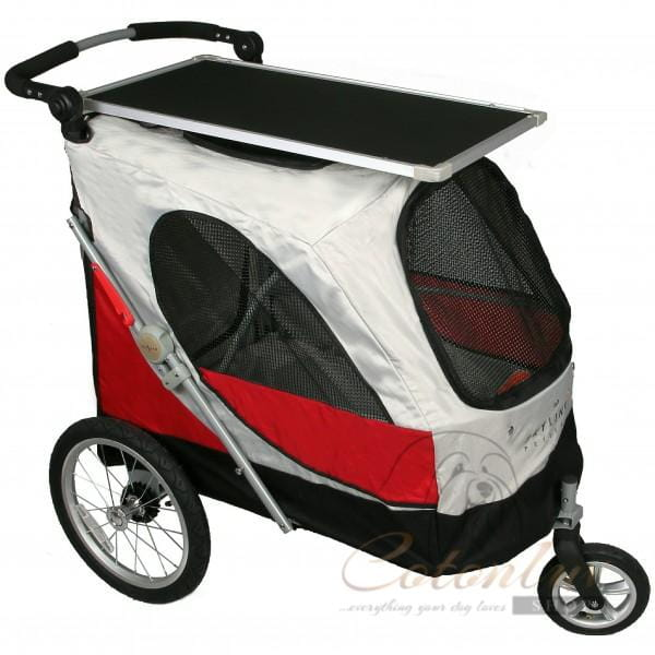 PETSTRO Stroller SKYLINE 701GX-RD Regenschutz Rot